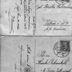 První je napsán Josefem Neumannem, druhý dokládá, že Marie pracovala u Taussigů.