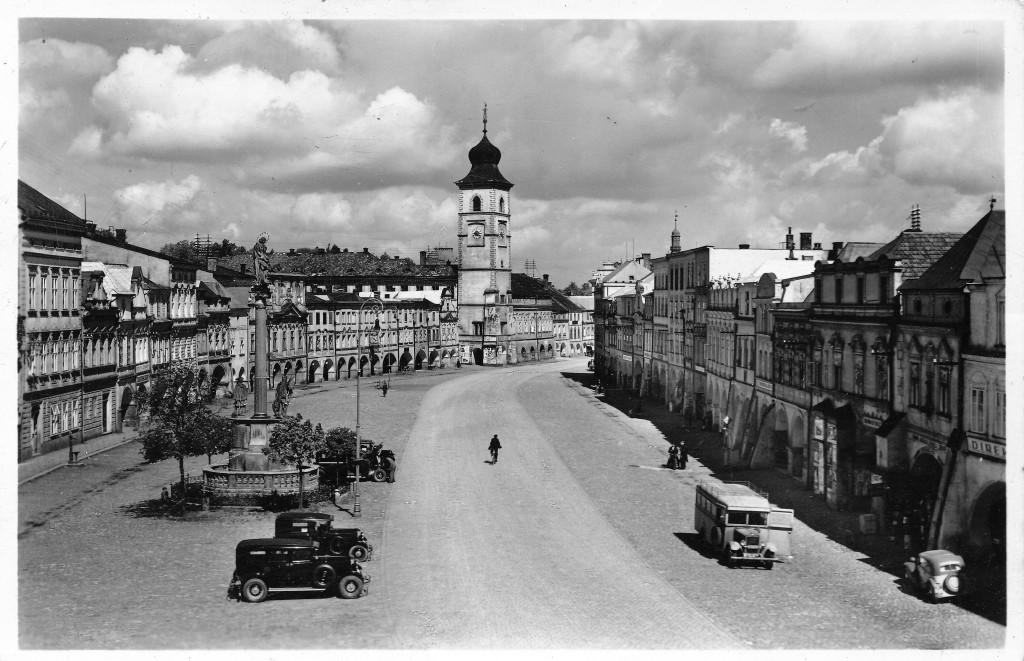 Pohlednice z Litomyšle 1939.