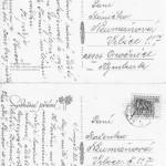 Pohlednice psané Antonií Turečkovou.